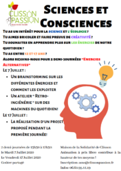 Atelier ados : Sciences et Consciences @ La Solid'